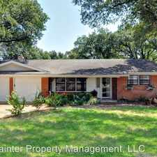 Rental info for 1709 Montclair in the Fort Worth area
