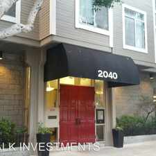 Rental info for 2040 SUTTER ST. #208 in the Lower Pacific Heights area