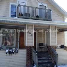 Rental info for One Bedroom Upper in the heart of the city with heat included in the Waukesha area