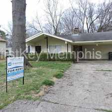 Rental info for 4186 Lansdowne Drive in the Memphis area