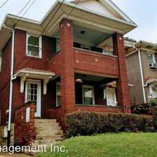 Rental info for 805-807 HEBERTON in the Pittsburgh area