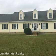 Rental info for 1901 NC Hwy 111 N in the Goldsboro area