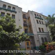 Rental info for 1616 N. Normandie Ave. in the Los Angeles area