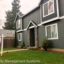 Rental info for 6625 SE Reedway in the 97206 area