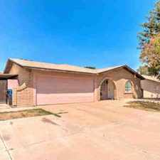 Rental info for 104 E OLIVE Avenue Gilbert Four BR, Darling Home within walking