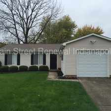 Rental info for 812 Coolee Ln -Nice 3 Bedroom Ranch in Cumberland in the Indianapolis area