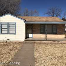 Rental info for 2620 28th Street in the Lubbock area