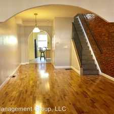 Rental info for 522 South Lehigh Street in the Baltimore area