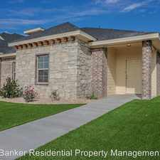 Rental info for 6710 67th in the Lubbock area