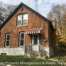 Rental info for 1402 Third St in the Fort Wayne area