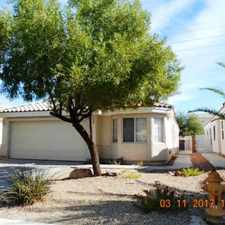 Rental info for 1168 Ekalaka Rd in the Anthem area