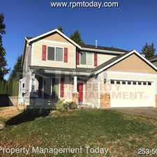 Rental info for 19212 76th Ave E in the Frederickson area