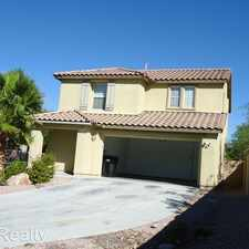 Rental info for 6232 Halstead Ct in the North Las Vegas area