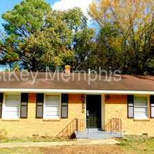 Rental info for 4896 Lochnivar Drive in the Memphis area
