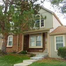 Rental info for Lovely 2 Bedroom, 1.5 Bath TOWNHOME ~ South Aur... in the Prides Crossing area