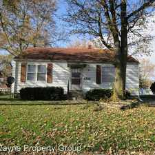Rental info for 4816 S. Monroe in the Fort Wayne area