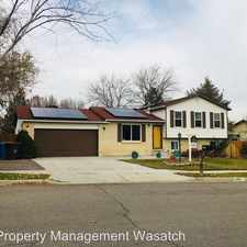 Rental info for 2182 West Gregory Ave in the Riverton area