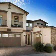 Rental info for 4954 S NEWTON Terrace Mesa Four BR, Do you love model homes but