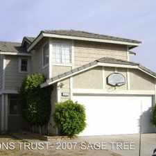 Rental info for 2007 W. SAGE TREE RD in the 92376 area