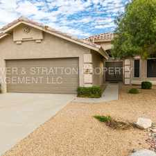Rental info for 16213 N 88th Ave - READY TO MOVE IN GREAT PEORIA HOME! LOTS OF EXTRAS! CLOSE TO FREEWAY, SHOPPING AND SCHOOLS!