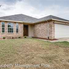Rental info for 705 Cumberland Dr in the Burleson area
