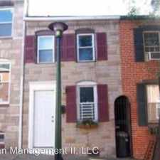 Rental info for 319 S. Castle St in the Upper Fells Point area