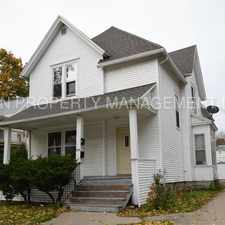 Rental info for 2 Bedroom Lower Great Location in the Appleton area