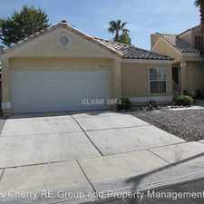 Rental info for 8669 Freeport Lane in the West Sahara area
