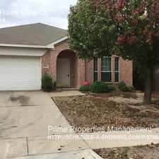 Rental info for 8621 Rainy Lake Dr. in the Fort Worth area