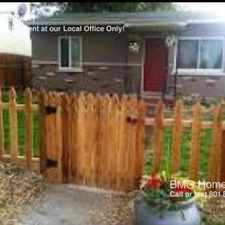 Rental info for 1427 Canyon