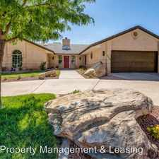 Rental info for 3384 Aztec Road in the St. George area