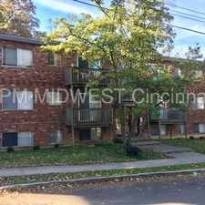 Rental info for Awesome remodeled 1 bedroom in Walnut Hills! in the Cincinnati area