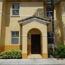 Rental info for 8043 West 36 Ave. in the Hialeah Gardens area