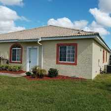 Rental info for 18201 Indian Creek Cir. B in the Poinciana area