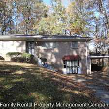 Rental info for 904 Sherwood Forest Dr in the Liberty Highlands area