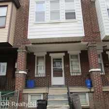Rental info for 2118 Carver St. in the Tacony - Wissinoming area