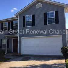 Rental info for Beautiful FOUR Bedroom Home In Charlotte in the Charlotte area