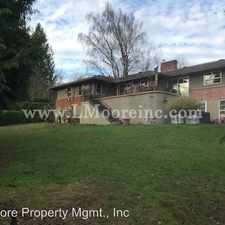 Rental info for 5551 SW Menefee Drive in the Portland area