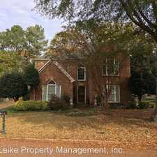 Rental info for 8854 Gainesway Drive in the Memphis area