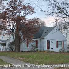 Rental info for 2516 E. Second St. in the Burton area