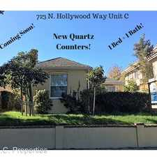 Rental info for 723 N Hollywood Way - C in the McNeil area