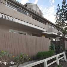 Rental info for 15520 Foothill Boulevard in the Sylmar area