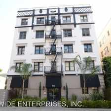 Rental info for 1842 N. Cherokee Ave in the Hollywood United area