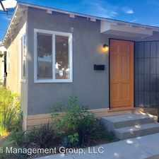Rental info for 3792 Ashwood Ave in the Santa Monica area
