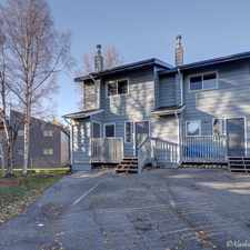 Rental info for 7430 Woburn Circle in the Anchorage area