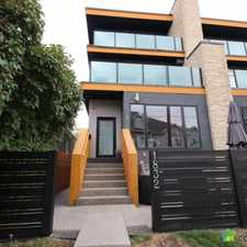 Rental info for 1832 34 Avenue SW #1 in the South Calgary area
