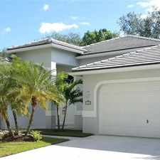 Rental info for 1320 Ginger Circle #e in the 33327 area