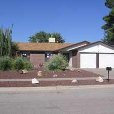 Rental info for 1011 Oneida Drive in the Desierto Plaza area