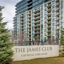 Rental info for 1135 Royal York Rd #1106 in the Kingsway South area