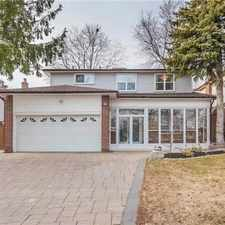 Rental info for 63 Mogul Drive in the Markham area